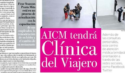 AICM tendrá Clínica del Viajero