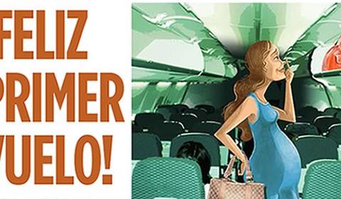 Medidas preventivas para viajar en avión durante el embarazo