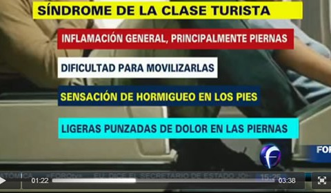 Síndrome de clase turísta en FOROtv | Clínica del Viajero UNAM