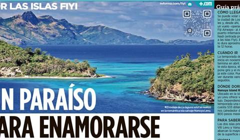 Islas Fiyi, sinónimo del paraíso para lunamieleros | Clínica del Viajero UNAM