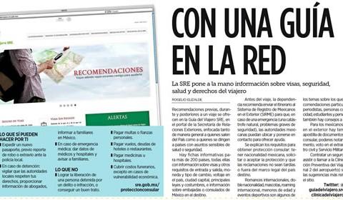 Guía del Viajero en la web | Clínica del Viajero UNAM